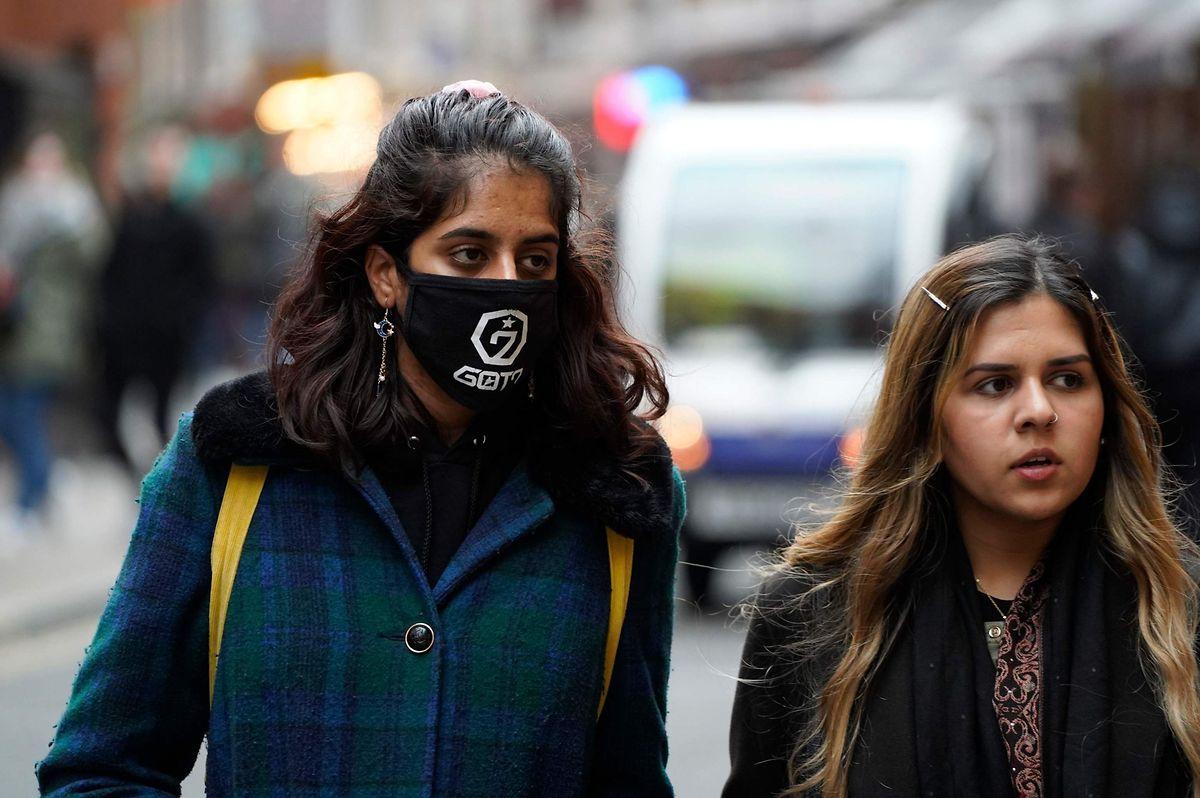 Rund um den Globus - hier in London - greift die Angst vor dem Virus um sich.