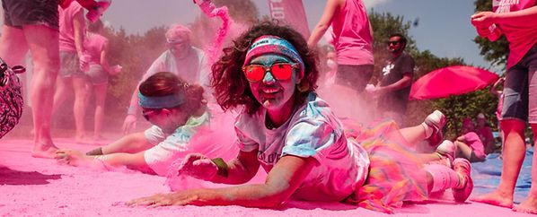 Color Run, the happiest 5k on the planet! Echternach 2018