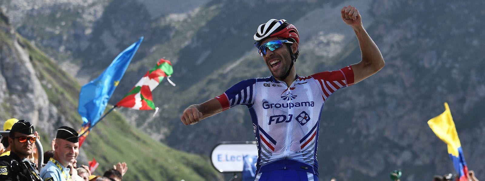 Thibaut Pinot war am Col du Tourmalet der Stärkste.