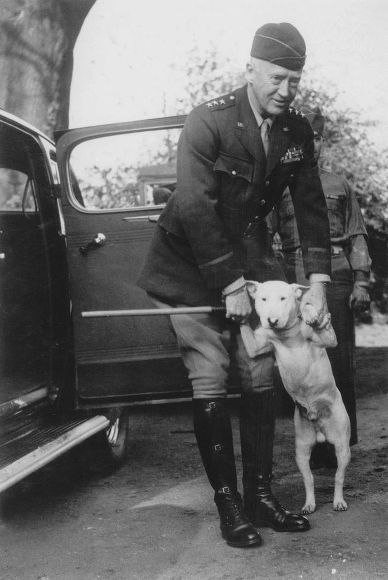Patton und sein Hund Willy
