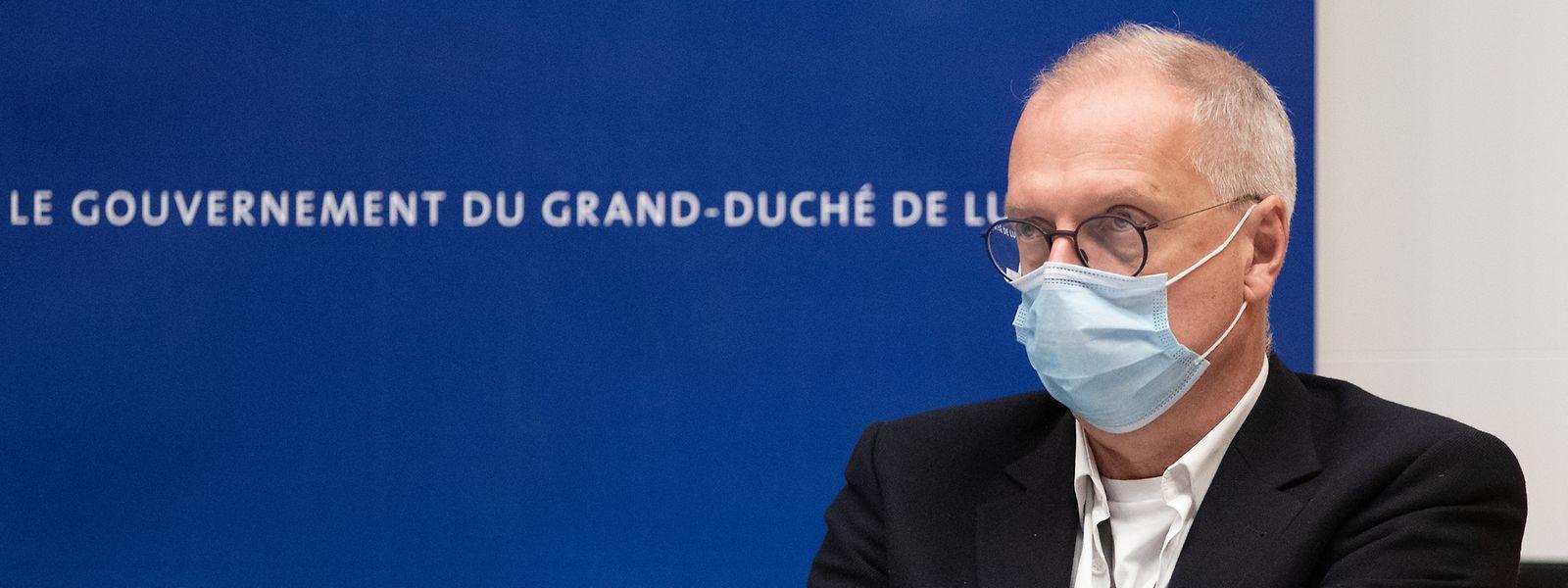 Pour le Dr Jean-Claude Schmit, directeur de la Santé, la principale mutation qui circule pour l'heure au Luxembourg n'est autre que le variant britannique du covid-19.