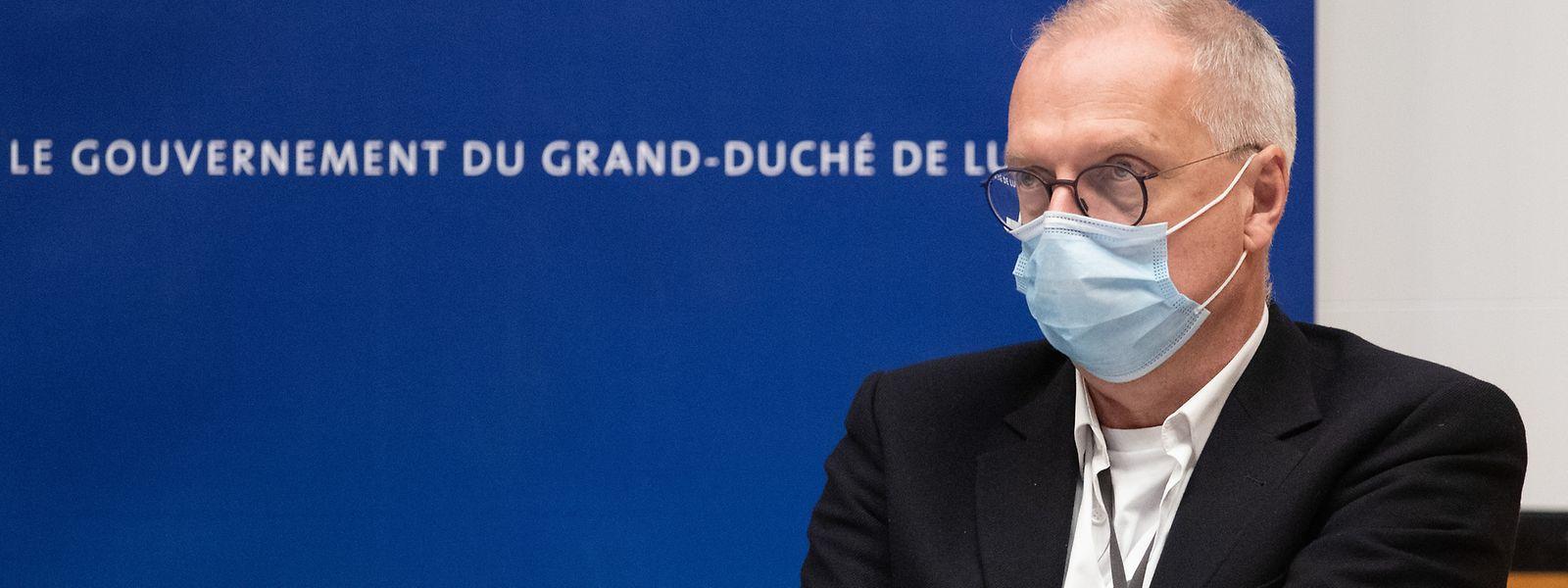 Le directeur de la Santé, Jean-Claude Schmit, rappelle que les mutations du virus sont «tout à fait normales».