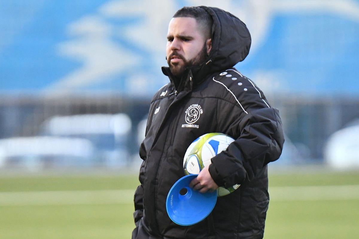 Daniel Nunes, l'entraîneur du SC Bettembourg.