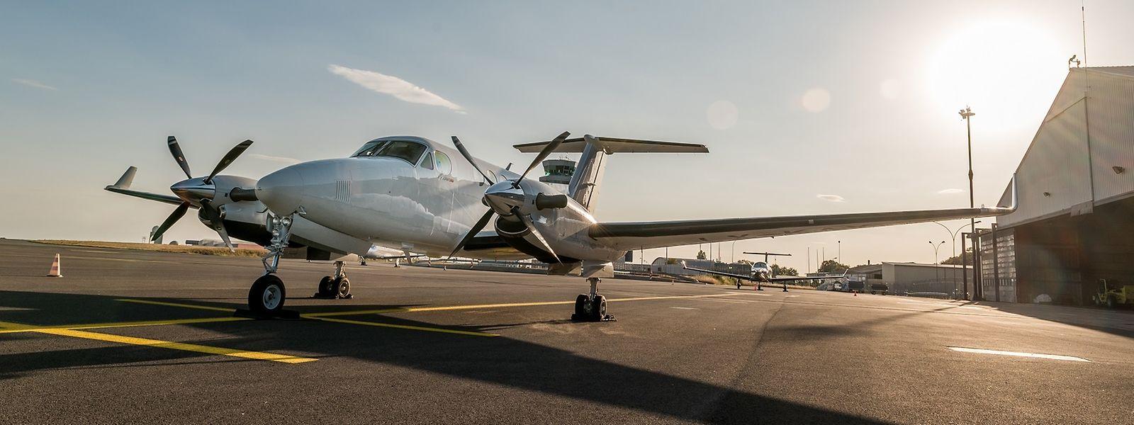 Aus der Krise geboren: der neue Luxemburger Anbieter für Flüge mit Businessflugzeug, Flyer, setzt auf Kurzstrecke und damit auf Turboprop-Maschinen.