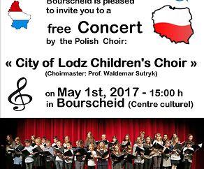 "Concert by the polish cildren's coir ""City of Lodz Children's Choir"""