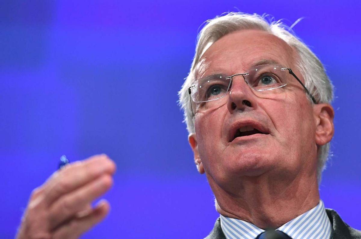 EU-Unterhändler Michel Barnier wies den Vorschlag aus London entschieden zurück.
