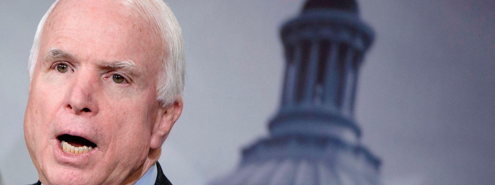 John McCain gilt als Abweichler innerhalb der republikanischen Partei.
