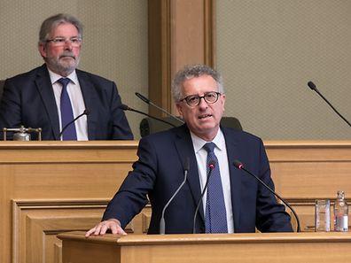 Pierre Gramegna a expliqué que l'emploi continuera d'augmenter au Luxembourg cette année (3,2%) et l'an prochain (3,4%).