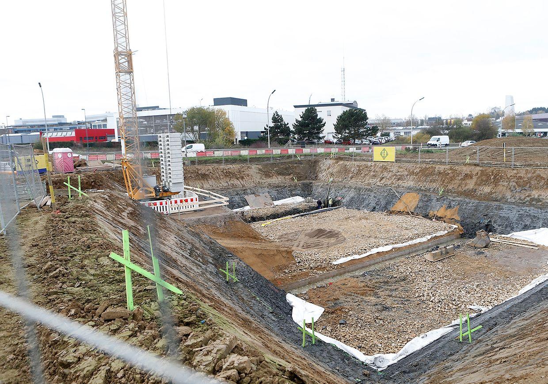 Création du couloir écologique à proximité du futur boulevard Raiffeisen