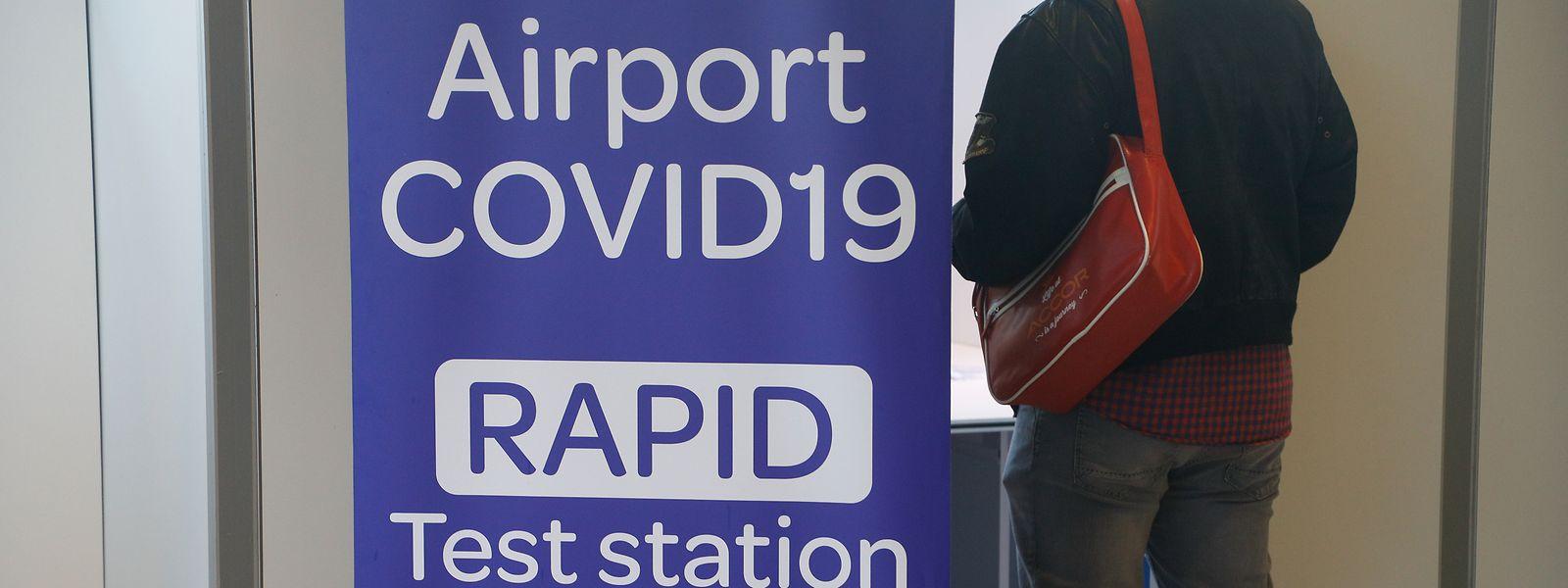 Pour les voyageurs arrivant par le Findel du Royaume-Uni, le test obligatoire pourra être réalisé au sein de la station de test de l'aéroport.