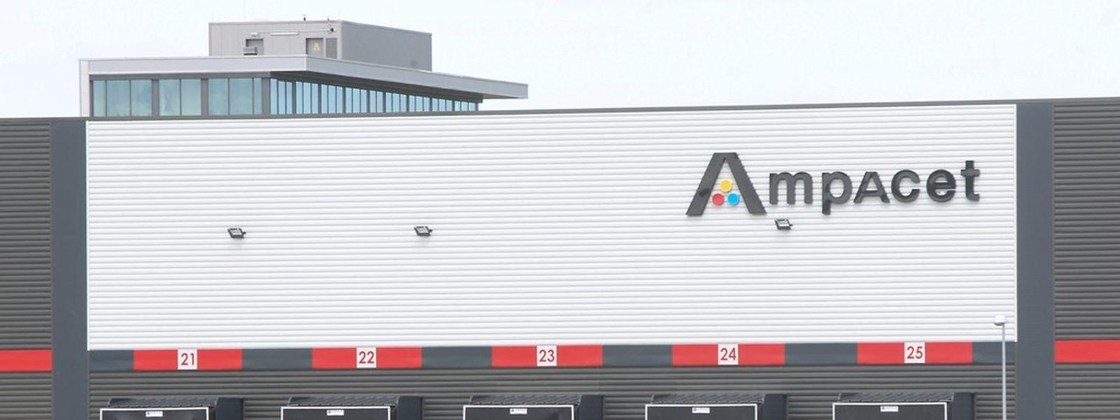 4.5.2015 Luxembourg, Dudelange-Bettembourg, Ampacet , nouveau bâtiment photo Anouk Antony