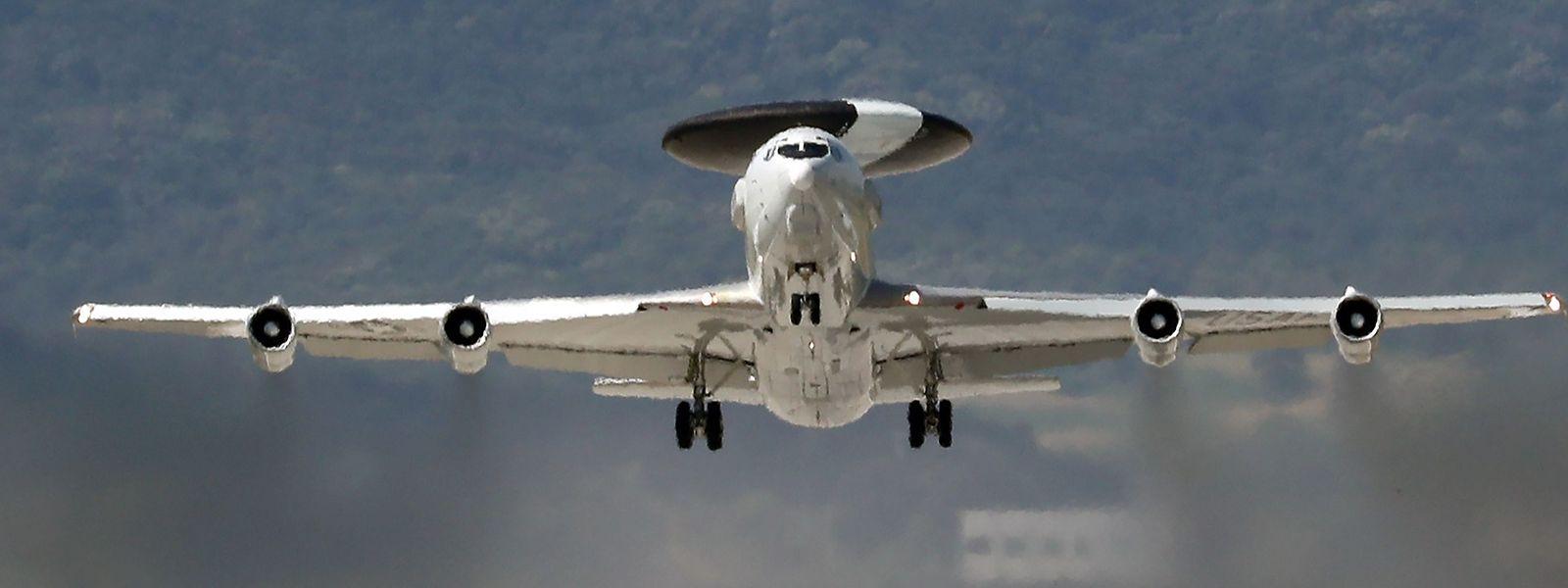 Awacs-Flugzeuge hatten den Flug der Rakete erfasst.