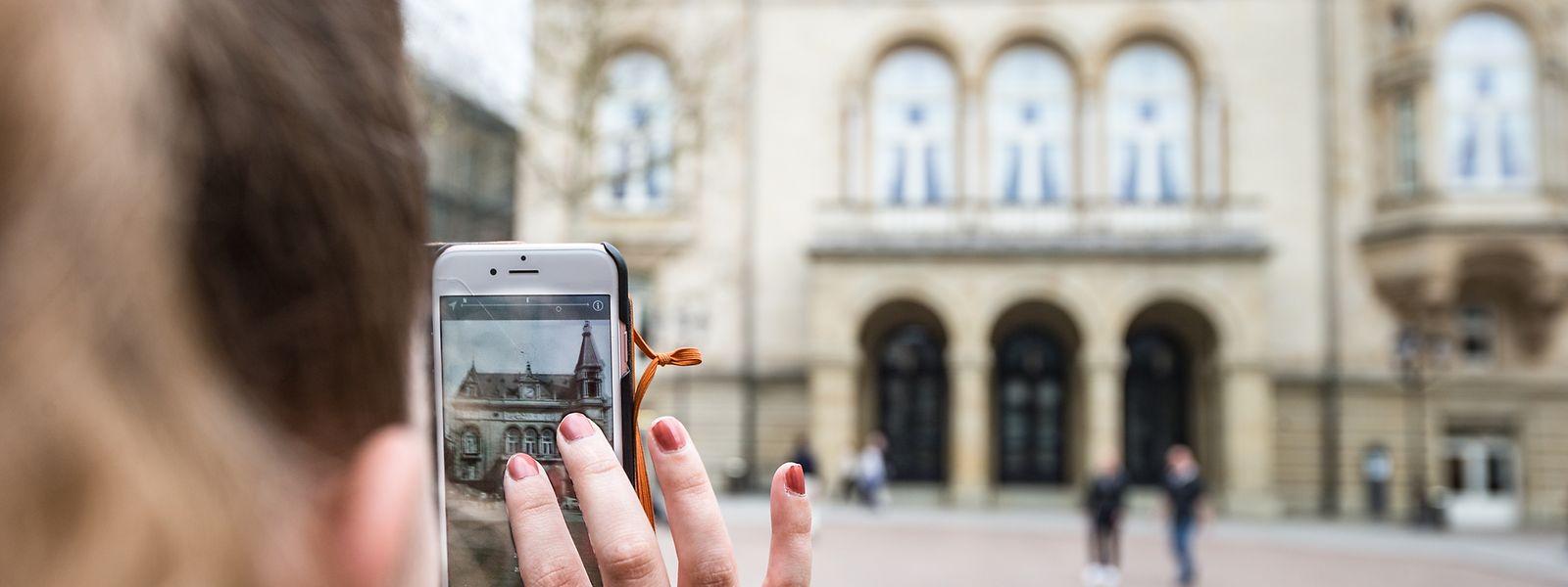 Beim Cercle auf der Place d'Armes zeigt die App immerhin etwas an – nämlich ein historisches Foto sowie Bilder aus dem Inneren. Weitere Informationen sucht man allerdings vergeblich.