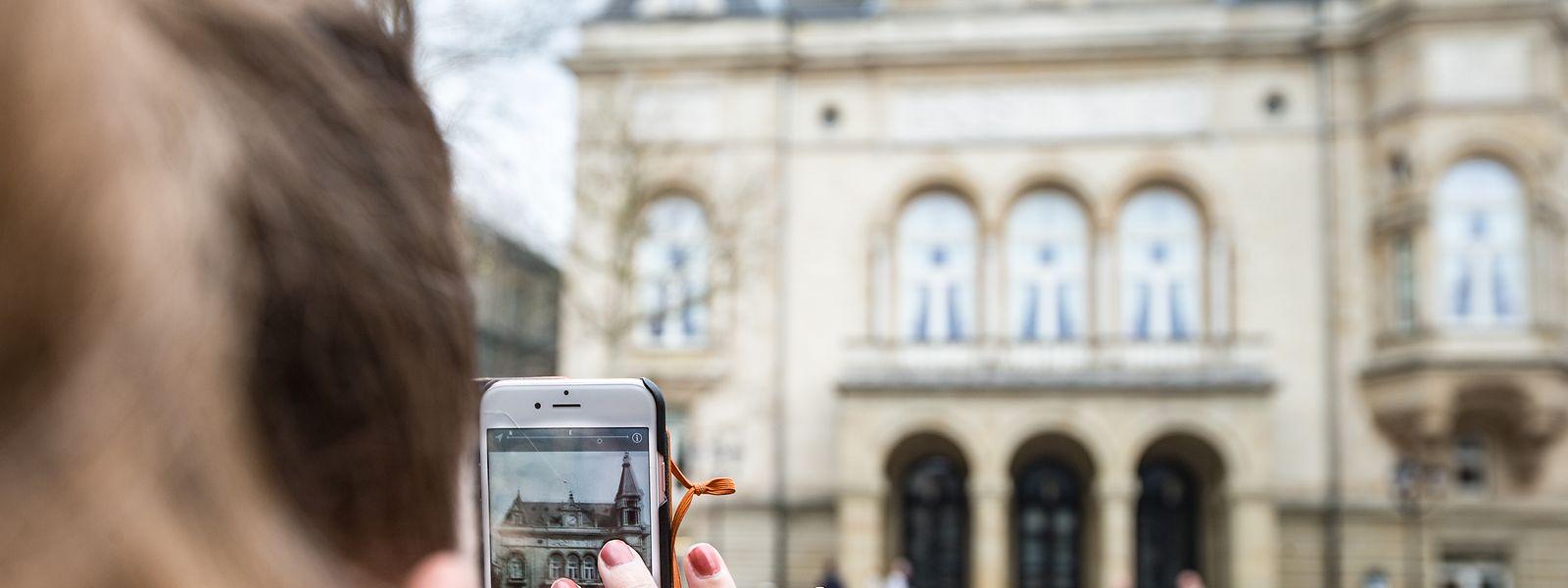Die Augmented-Reality-App wird überarbeitet und bald in mehreren Sprachen verfügbar sein.