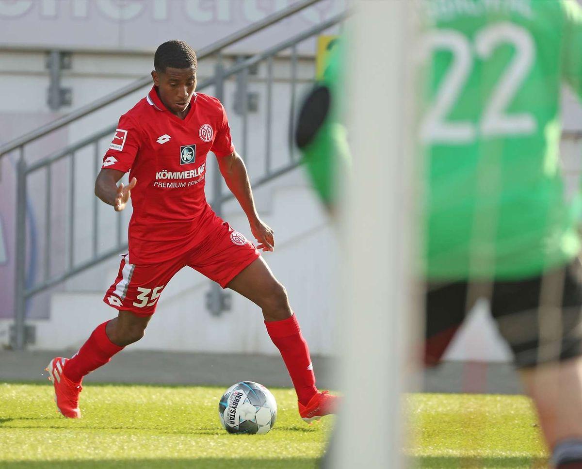 Leandro Barreiro will gegen Kaiserslautern in die nächste Runde einziehen.