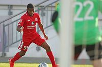 Leandro Barreiro im Testspiel von Mainz gegen Eisbachtal. / Foto: Mainz 05