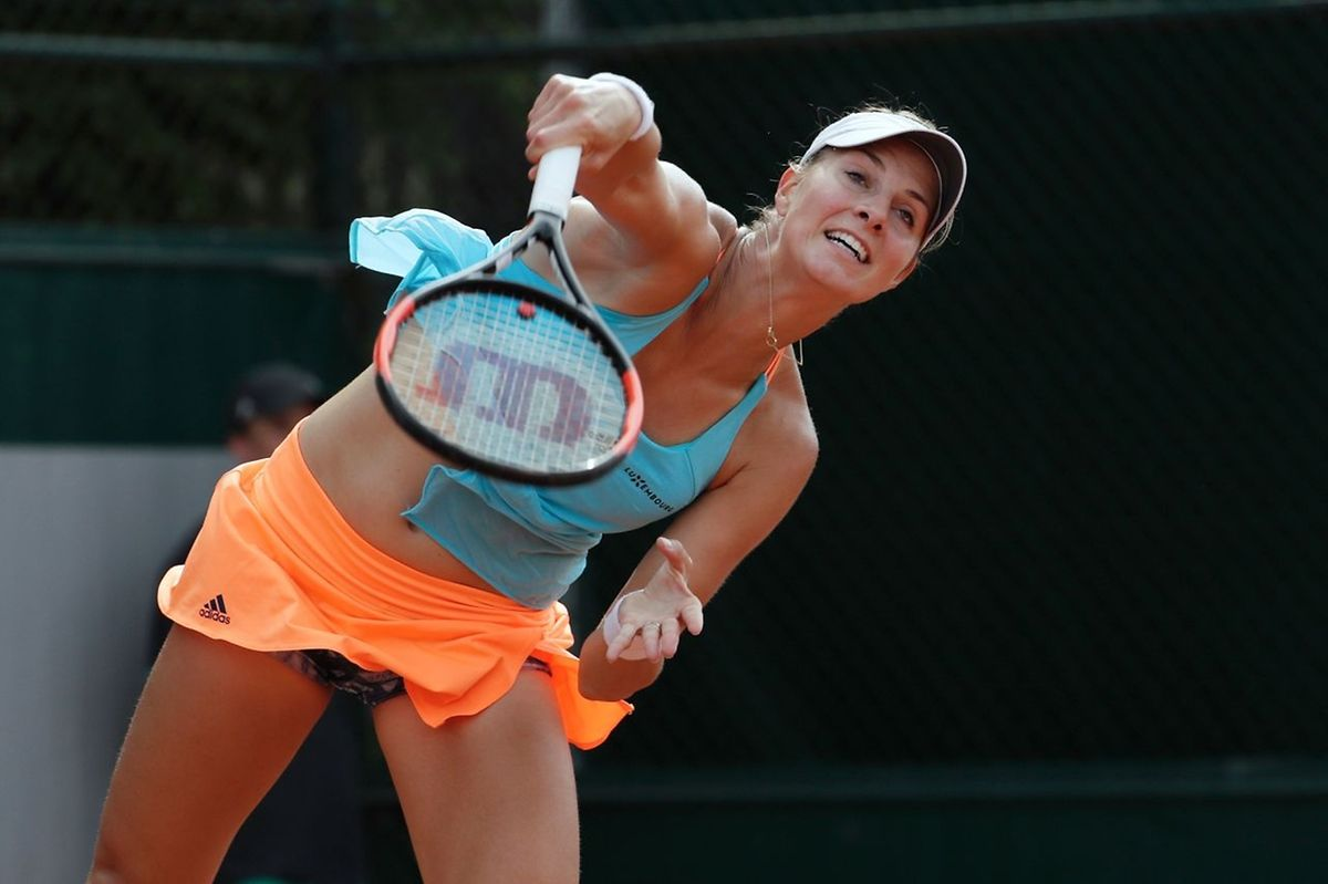 Mandy Minella dispute également le double dames à Roland Garros, au côté de la Lettonne Anastasija Sevastova