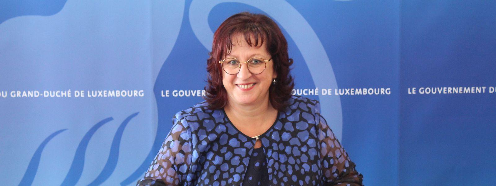 Simone Asselborn-Bintz a prêté serment ce 13 juillet devant la ministre de l'Intérieur Taina Bofferding