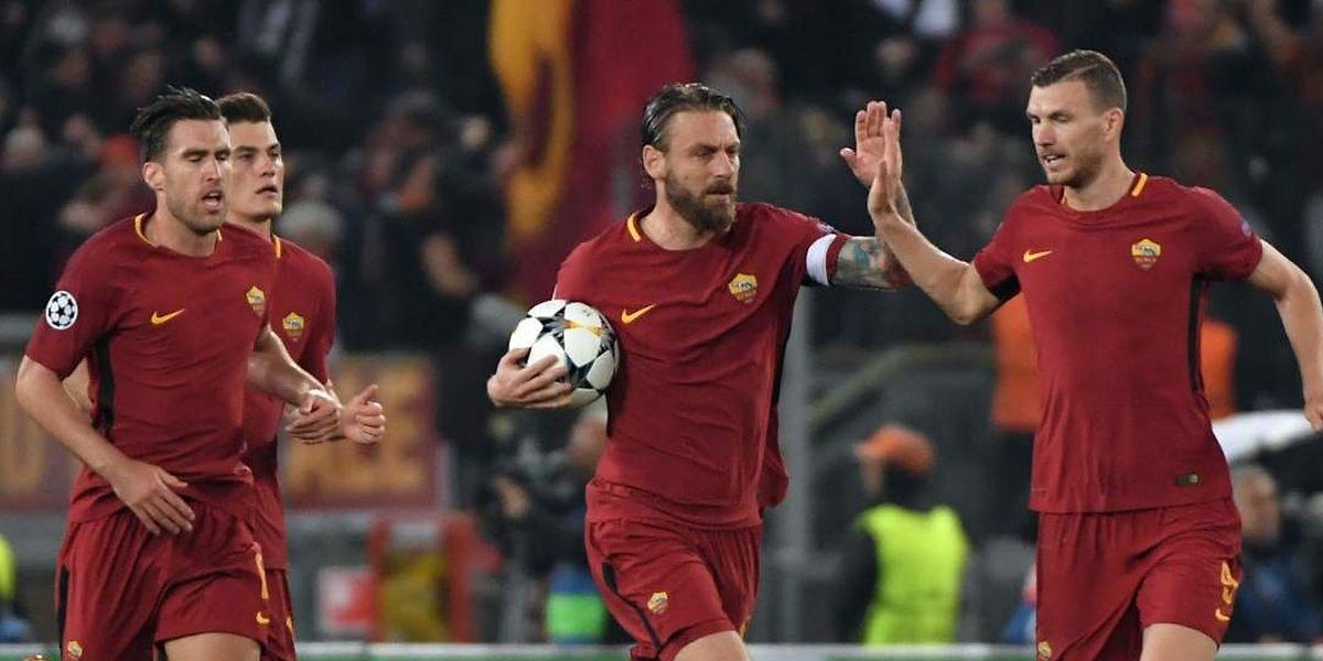 Battus 1-4 à l'aller, Daniele De Rossi et ses partenaires ont renversé la vapeur devant leurs supporters.