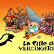 "This handout picture released on April 10, 2019 by the Editions Albert Rene publishing house shows the drawing featuring on the cover of the 38th issue of French famous comics series ""Asterix le Gaulois"" entitled in French ""La fille de Vercingerorix"" drawn by Didier Conrad and written by Jean-Yves Ferri, which is to be world wide released on October 4, 2019. (Photo by Handout and Didier CONRAD / Asterix � - Obelix � / � 2017 LES EDITIONS ALBERT RENE / AFP) / RESTRICTED TO EDITORIAL USE - MANDATORY CREDIT ""AFP PHOTO /  EDITIONS ALBERT RENE / DIDIER CONRAD"" - NO MARKETING - NO ADVERTISING CAMPAIGNS - DISTRIBUTED AS A SERVICE TO CLIENTS - MANDATORY MENTION OF THE ARTIST UPON PUBLICATION"
