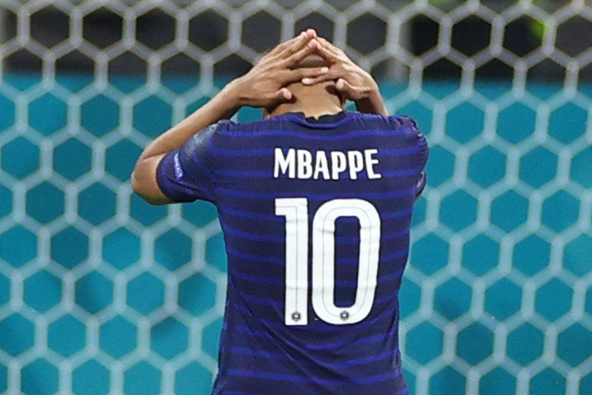 Für Kylian Mbappé ist es ein Abend zum Vergessen.
