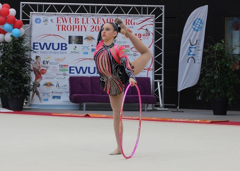 As ginastas portuguesas estiveram em destaque no Torneio Internacional de ginástica ritmica do Luxemburgo