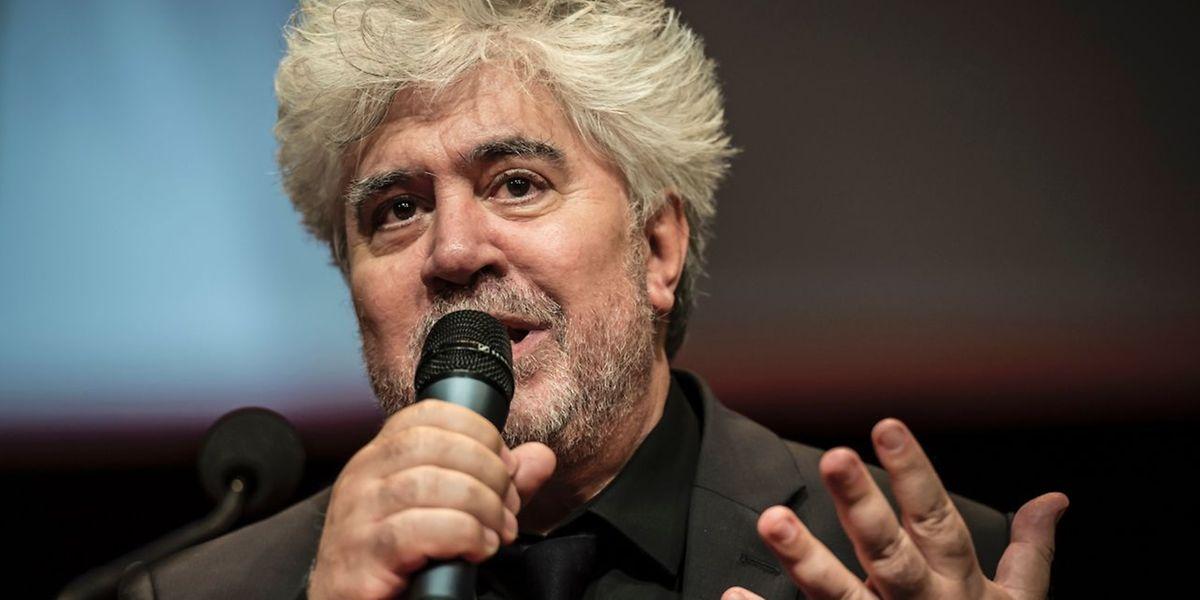 Pedro Almodovar: «Je suis très heureux de fêter le 70e anniversaire du Festival du film de Cannes dans cette fonction si privilégiée. Je suis reconnaissant et honoré et j'ai le trac!»