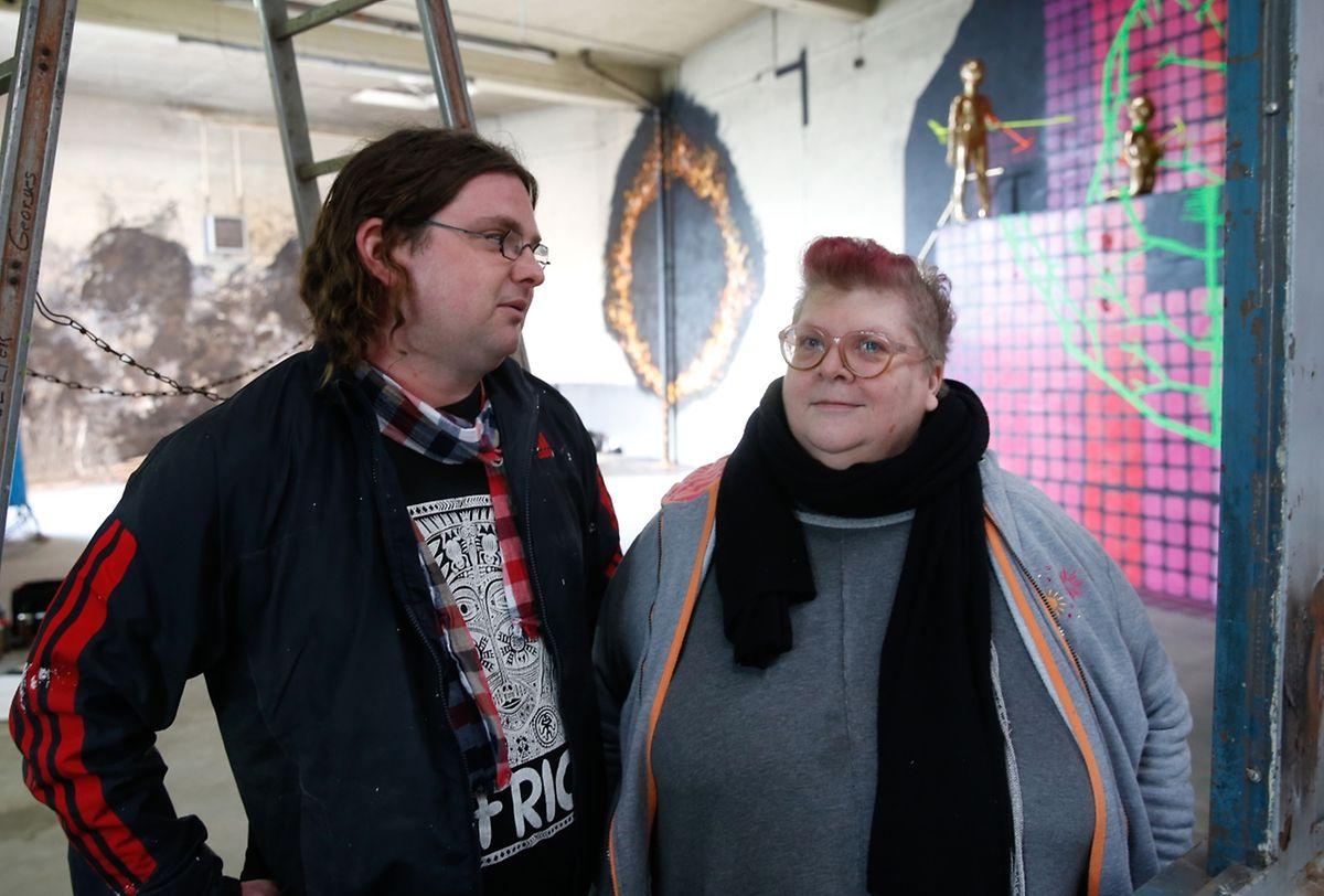 Reiny Rizzi et Marc Soisson se sont retrouvés à Esch/Alzette.