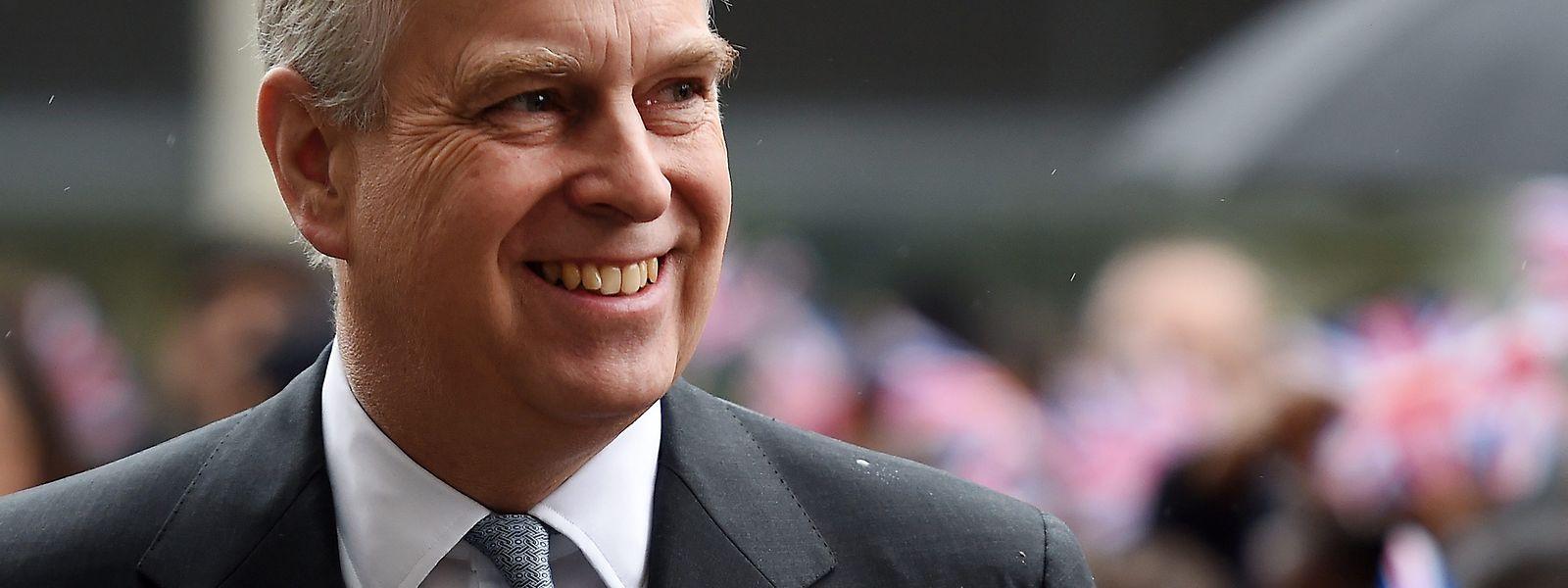Der britische Prinz Andrew.