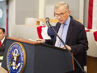 US Ambassador to Luxembourg David McKean