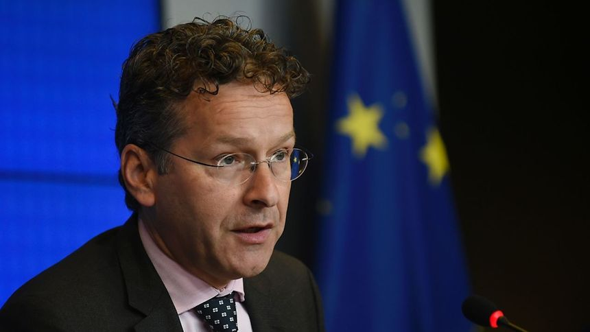 Dutch Finance Minister and president of Eurogroup Jeroen Dijsselbloem  / AFP PHOTO / JOHN THYS