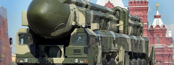 Die veralteten Topol-Raketen sollen durch die neue RS-24 ersetzt werden.