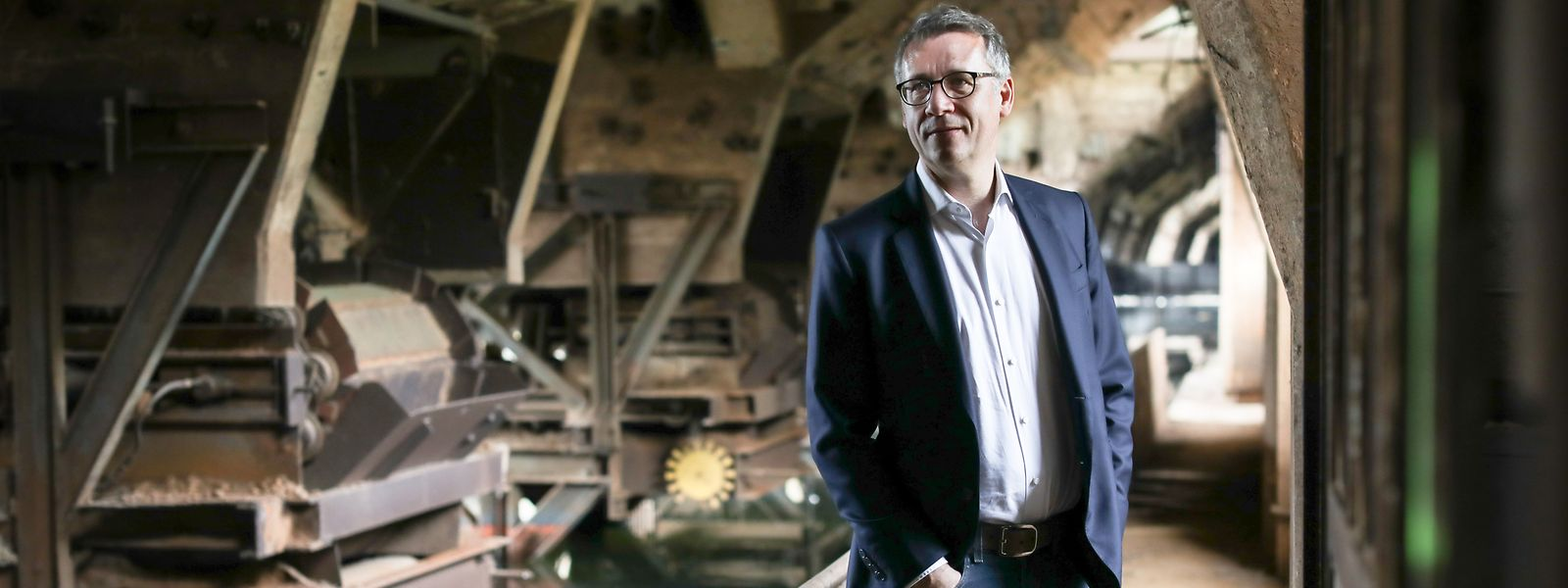 Unternehmer Eric Lux will Bürger in die Entwicklung der Escher Rout Lëns einbinden.