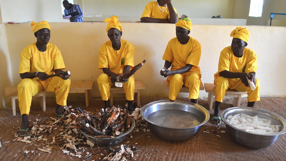 In Burkina Faso eine Partnerorganisation eine neue Produktionsstätte  für die Produktion von Maniok eingeweiht. Das Projekt soll die wirtschaftliche Unabhängigkeit von 150 Frauen in den Dörfern von Kyon stärken.