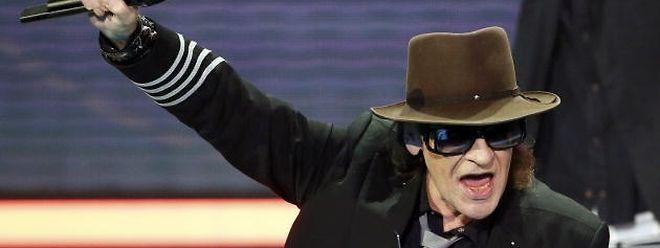 Rockmusiker Udo Lindenberg ist mit 70 wieder voll am Start.