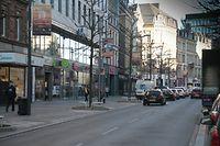 Lokales, Baustelle Tram, chantier, tramway, avenue de la gare et avenue de la liberté, Mobilität,  photo Anouk Antony