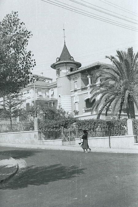 Pensão Zenith ( anexo) na Rua Belmonte, nº 2. Monte Estoril. A família Bodson ficou aqui instalada entre 30 de Agosto e 2 de Outubro de 1940
