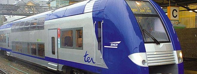 Das Problem trat an dem Triebwagen der SNCF auf.