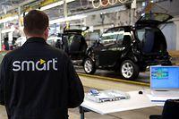 In dem Werk wird derzeit noch der Kleinwagen Smart gebaut, doch die Produktion soll nach China ausgelagert werden.