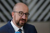 Belgium's Prime Minister Charles Michel arrives for an EU summit at the Europa building in Brussels, on June 21, 2019. - European leaders early on June 21, 2019 failed to agree on a new top team to lead efforts to reform their union for 2019-2024, and postponed a decision until the end of June. (Photo by Aris Oikonomou / AFP)