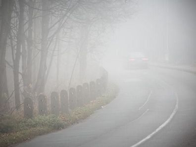 Freezing fog could cause slippery roads on Thursday morning