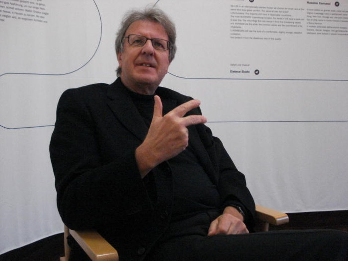 L'architecte Christian Bauer