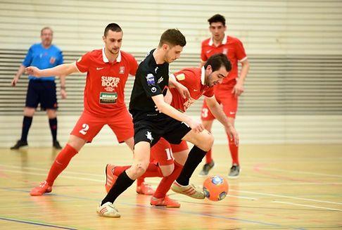 Futsal: Play-off titre: avantage ALSS Munsbach