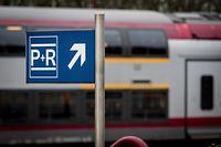 La SNCB ne voit pas l'intérêt actuel d'étendre le parking de la gare de Viville, en Belgique.