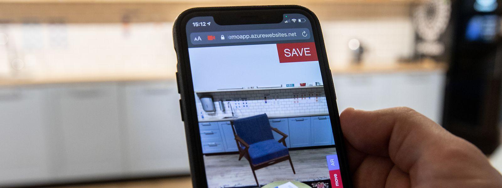 Das Start-up InjectIT entwickelt eine App, die das Online-Einkaufserlebnis verbessern soll.