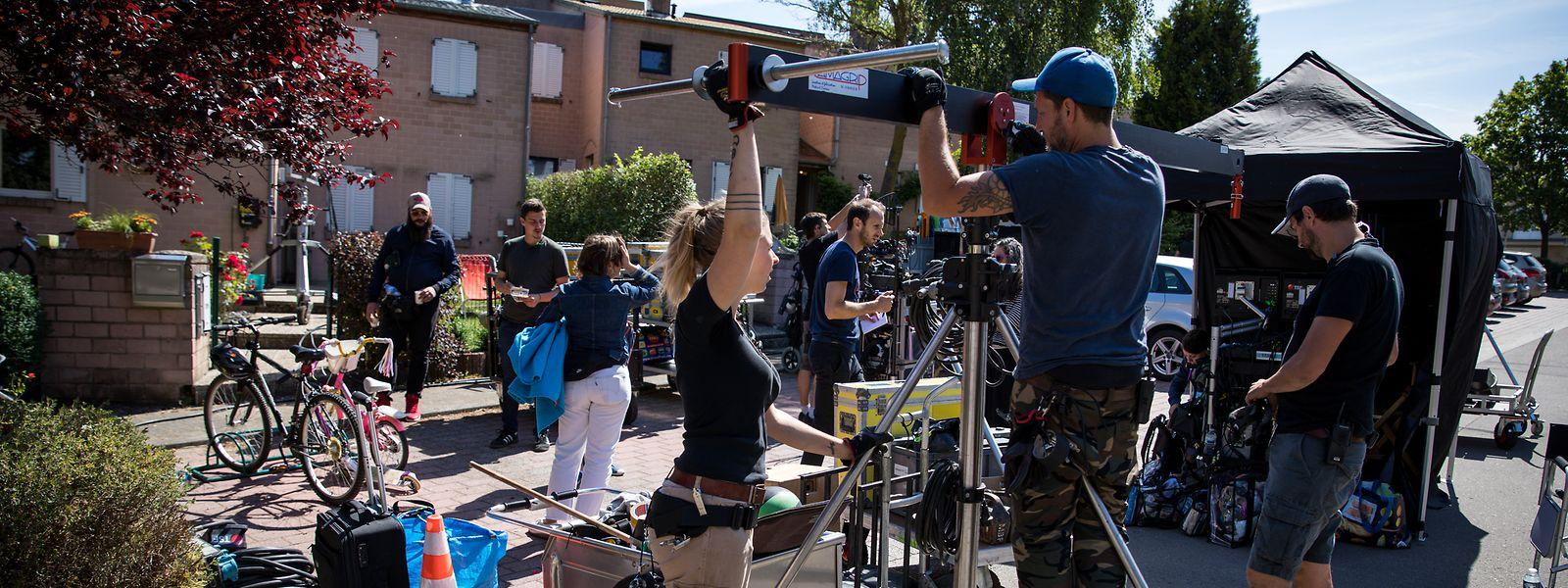 Il y a un an, le tournage du film «Les blagues de Toto» s'était tenu à Mamer dans des conditions de travail complètement différentes.