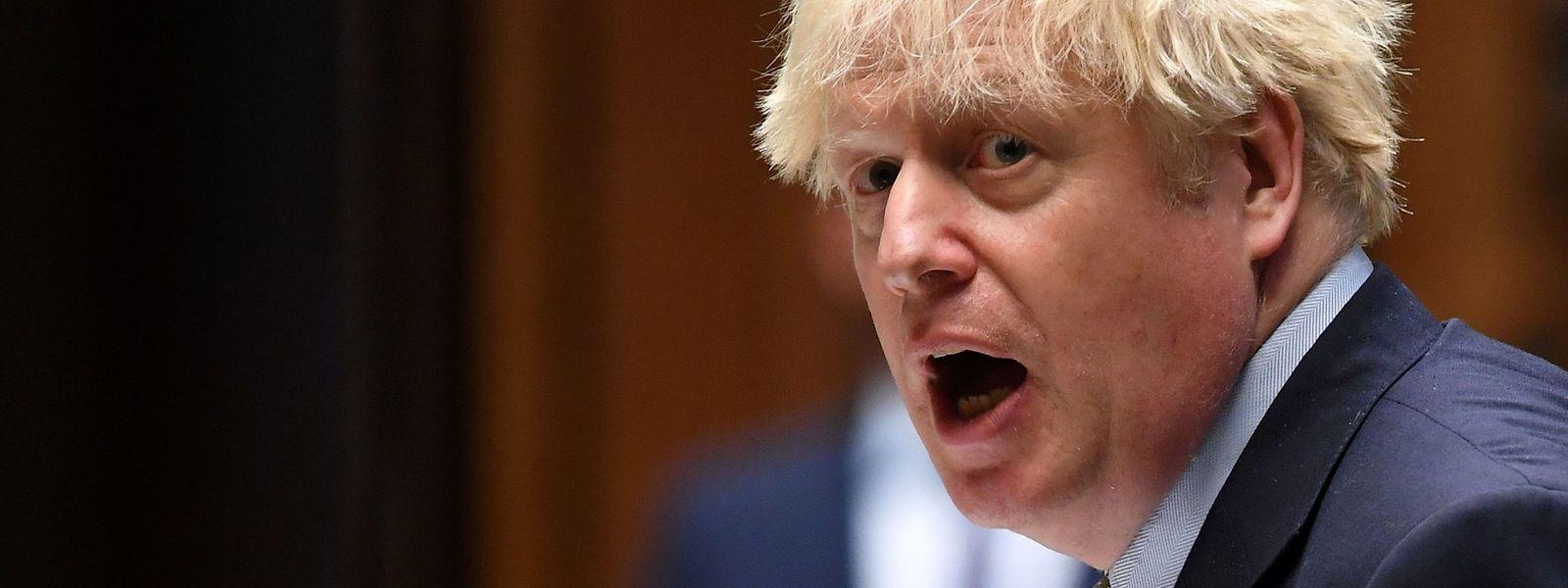 Großbritannien steuert laut Boris Johnson auf einen harten Bruch mit der Europäischen Union zu.