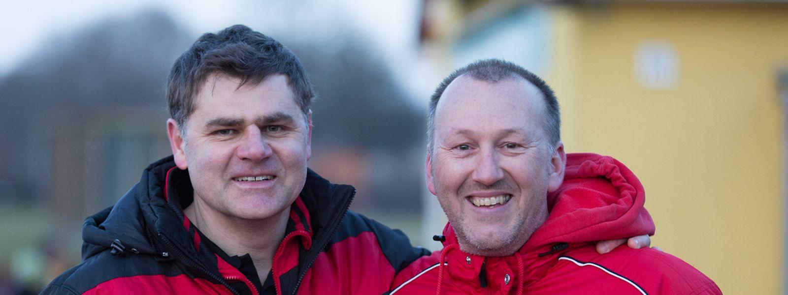 En perfectionniste, Marc Birsens (à gauche) aurait souhaité une victoire encore plus nette