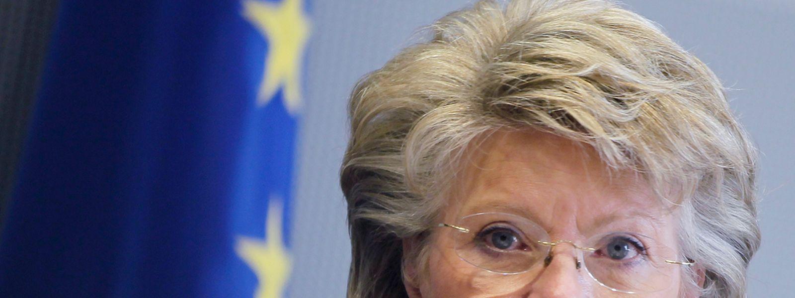 Viviane Reding macht sich für das Ziel einer starken, politisch geeinten Europäischen Union stark.