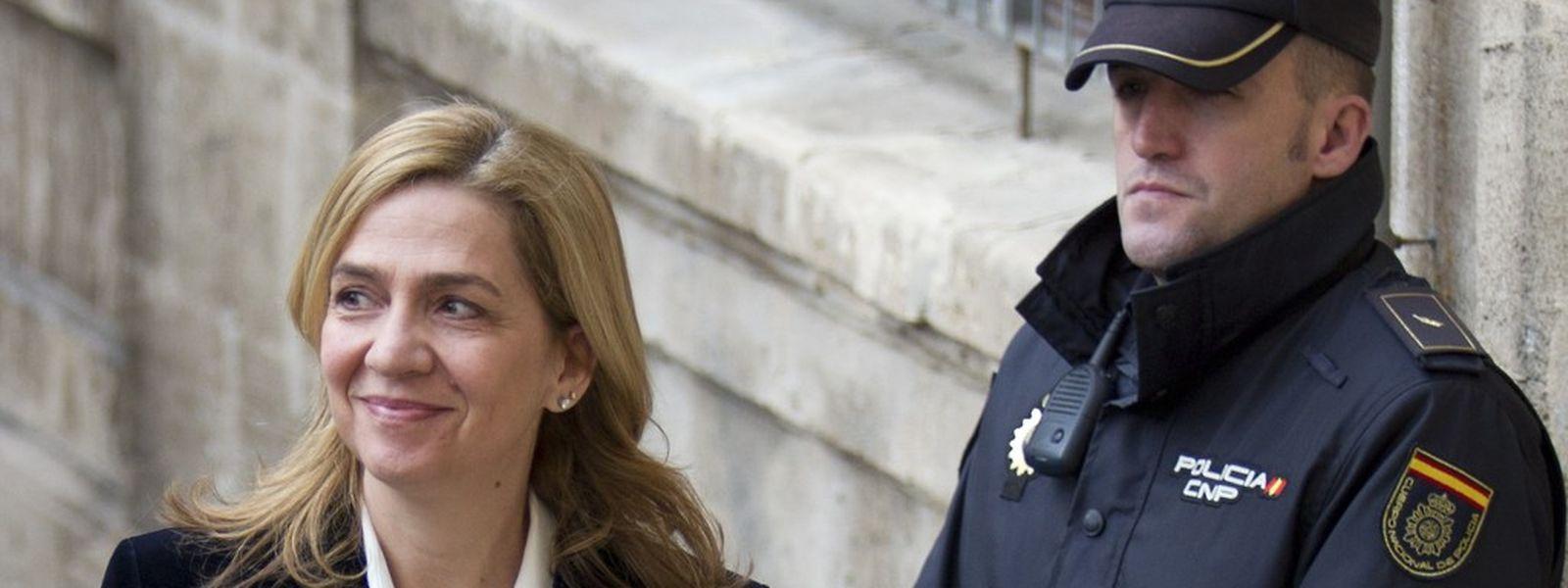 Infantin Cristina ist das erste Mitglied der spanischen Königsfamilie, das sich vor Gericht verantworten muss.
